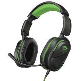 Trust GXT422G Legion pro Xbox One (23402) černý/zelený (vrácené zboží 8800749181)