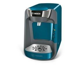Bosch Tassimo TAS3205 modré Hrneček Milka (zdarma)Kapsle Jacobs Krönung Café Crema 112 g Tassimo + Doprava zdarma