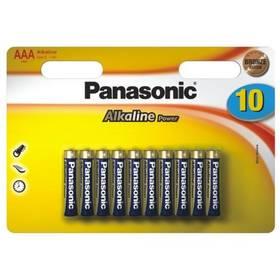 Batéria alkalická Panasonic ALKALINE POWER AAA, LR03, blistr 10ks