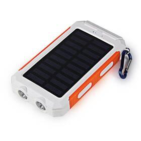 Viking Delta I 8000mAh, solární (DEL080WO) biela/oranžová