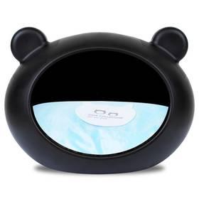 Guisapet pro psa plastový černý / polštář modrý - M + Doprava zdarma