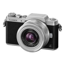 Panasonic Lumix DMC-GF7KEG-S + objektiv 12-32 mm černý/stříbrný