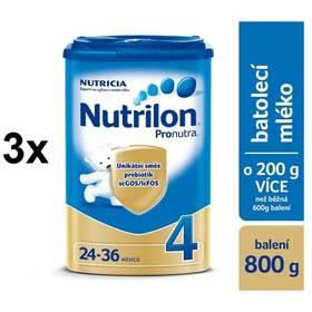 Nutrilon 4 Pronutra, 800g x 3ks + DÁREK + Doprava zdarma