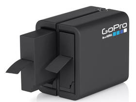 GoPro Dual Battery Charger (for HERO4) (AHBBP-401) černé