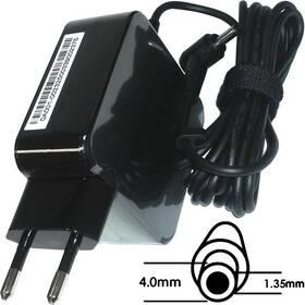 Asus 45W 19V 2P BLK(AC FIX) s EU plug (B0A001-00232500)