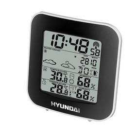 Meteorologická stanica Hyundai Hyundai WS 8236 čierna/strieborná