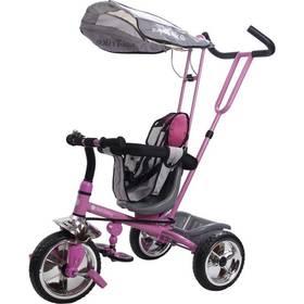 Sun Baby Super Trike se stříškou růžová + Doprava zdarma