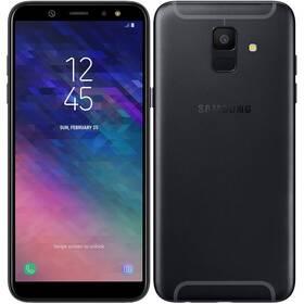 Samsung Galaxy A6 (SM-A600FZKNXEZ) černý SIM s kreditem T-Mobile 200Kč Twist Online Internet (zdarma)
