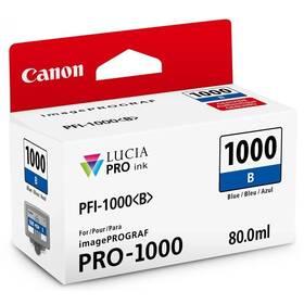 Canon PFI-1000 B, 80 ml (0555C001) modrá