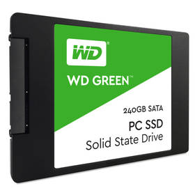 Western Digital Green 2.5'', 240GB, SATA/600, 7mm, 3D NAND (WDS240G2G0A)