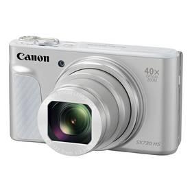 Canon SX730HS (1792C002) stříbrný + Doprava zdarma