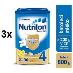 Nutrilon 4 Pronutra Vanilka, 800g x 3ks + DÁREK + Doprava zdarma