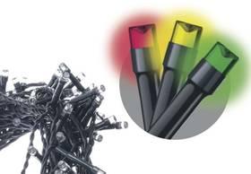 EMOS 240 LED, 24m, řetěz, vícebarevná, časovač, i venkovní použití (1534081055)