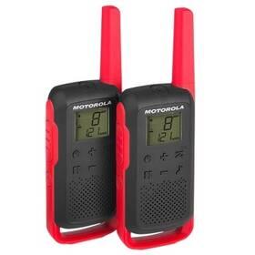 Motorola TLKR T62 (B6P00811RDRMAW) červený
