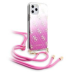 Guess 4G Gradient pro Apple iPhone 11 Pro (GUHCN58WO4GPI) ružový