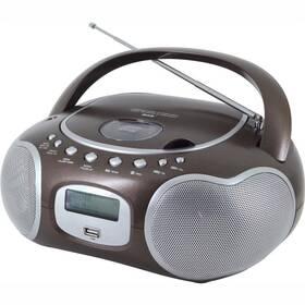 Soundmaster SCD4200BR strieborný/hnedý