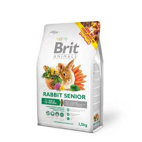 Brit Animals Rabbit Senior Complete pro hlodavce 1,5kg