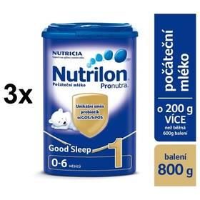 Nutrilon 1 Pronutra Good Sleep 800g x 3ks + Doprava zdarma