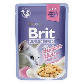 Brit Premium Cat D Fillets in Jelly with Chicken 85 g