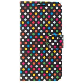 FIXED FIT na Apple iPhone 5/5S/SE - motiv Rainbow Dots (FIXFIT-002-RAD)