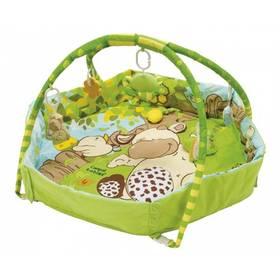 Canpol babies Hrací koberec s hrazdičkou a ohradou COUNTRY