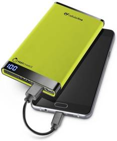 CellularLine FreePower Manta 6000mAh (FREEPMANTA6000G) zelená