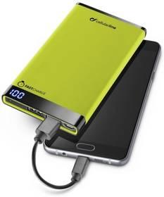 CellularLine FreePower Manta 6000mAh (FREEPMANTA6000G) zelená