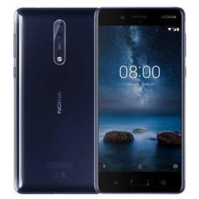 Nokia 8 Dual SIM (11NB1L01A12) modrý + Doprava zdarma
