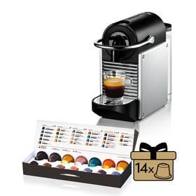 DeLonghi Nespresso Pixie EN125S stříbrné