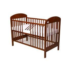 For Baby Zorka vyndavací příčky kaštan Matrace do postýlky For Baby 120x60 cm - bílá (zdarma)