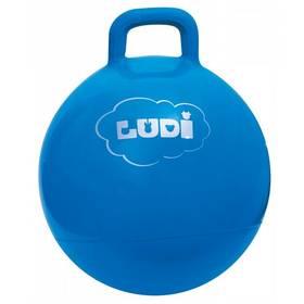 Skákací míč Ludi modrý