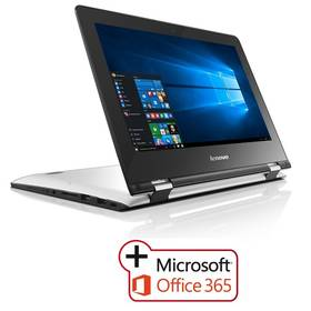 Lenovo IdeaPad YOGA 300-11IBR + Office 365 (80M100SNCK) bílý