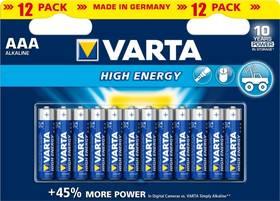 Varta High Energy, AAA, 12 ks (417642)