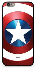 Marvel Premium Glass Captain America pro Apple iPhone XR (MPCCAPAM10207) červený