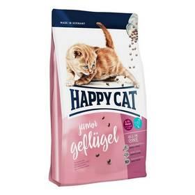 HAPPY CAT Junior Geflügel / Drůbež  4 kg