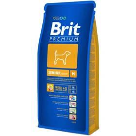 Brit Premium Dog Senior M 15 kg + Doprava zdarma