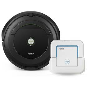 iRobot Roomba 696 + Braava jet 240 + Doprava zdarma