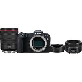 Canon EOS RP + M 24-105 L IS USM + adapter + EF 50 mm f/1.8 STM