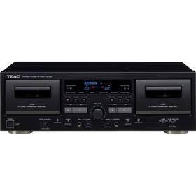 Kazetový přehrávač Teac W-1200, černý