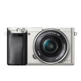 Sony Alpha A6000 + 16-50mm stříbrný Paměťová karta Kingston MicroSDHC 32GB UHS-I U1 (45MB/s) + adaptér (zdarma) + Doprava zdarma