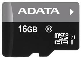 A-Data 16GB Class 10 UHS-U1 (50R/10W) + čtečka MicroReader Ver.3 (AUSDH16GUICL10-RM3BKBL) černá