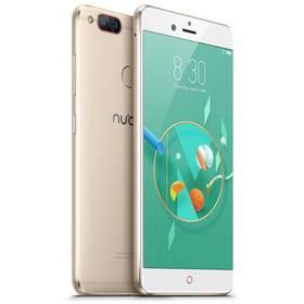 Nubia Z17 mini Dual SIM 4 GB + 64 GB (6902176901065) zlatý Software F-Secure SAFE 6 měsíců pro 3 zařízení (zdarma) + Doprava zdarma