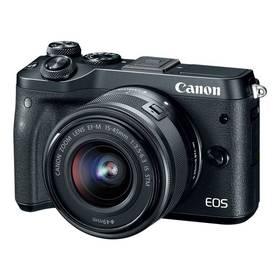Canon EOS M6 + 15-45mm IS STM (1724C012) černý + Doprava zdarma