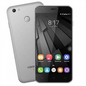 Mobilní telefon Umax VisionBook P55 LTE (UMM200P55) šedý
