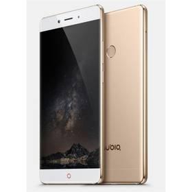Nubia Z11 Dual SIM (6902176900075) bílý/zlatý SIM s kreditem T-Mobile 200Kč Twist Online Internet (zdarma) + Doprava zdarma
