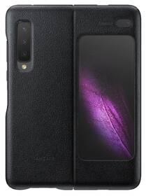 Samsung Leather Cover pro Galaxy Fold (EF-VF900LBEGWW) černý