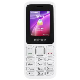 myPhone 3300 Dual SIM (TELMY3300WH) bílý SIM s kreditem T-mobile 200Kč Twist Online Internet (zdarma)