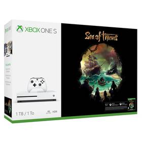 Microsoft Xbox One S 1 TB + Sea of Thieves (234-00333) biela