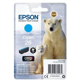 Epson T2612, 26 Claria Premium Ink, (C13T26124010) modrá