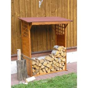 Prístrešok na drevo Rojaplast dřevěný